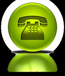 groene telefoon